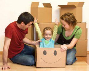 حمل اثاثیه منزل با کودک